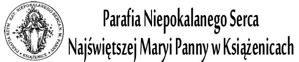 Logo for Parafia Książenice